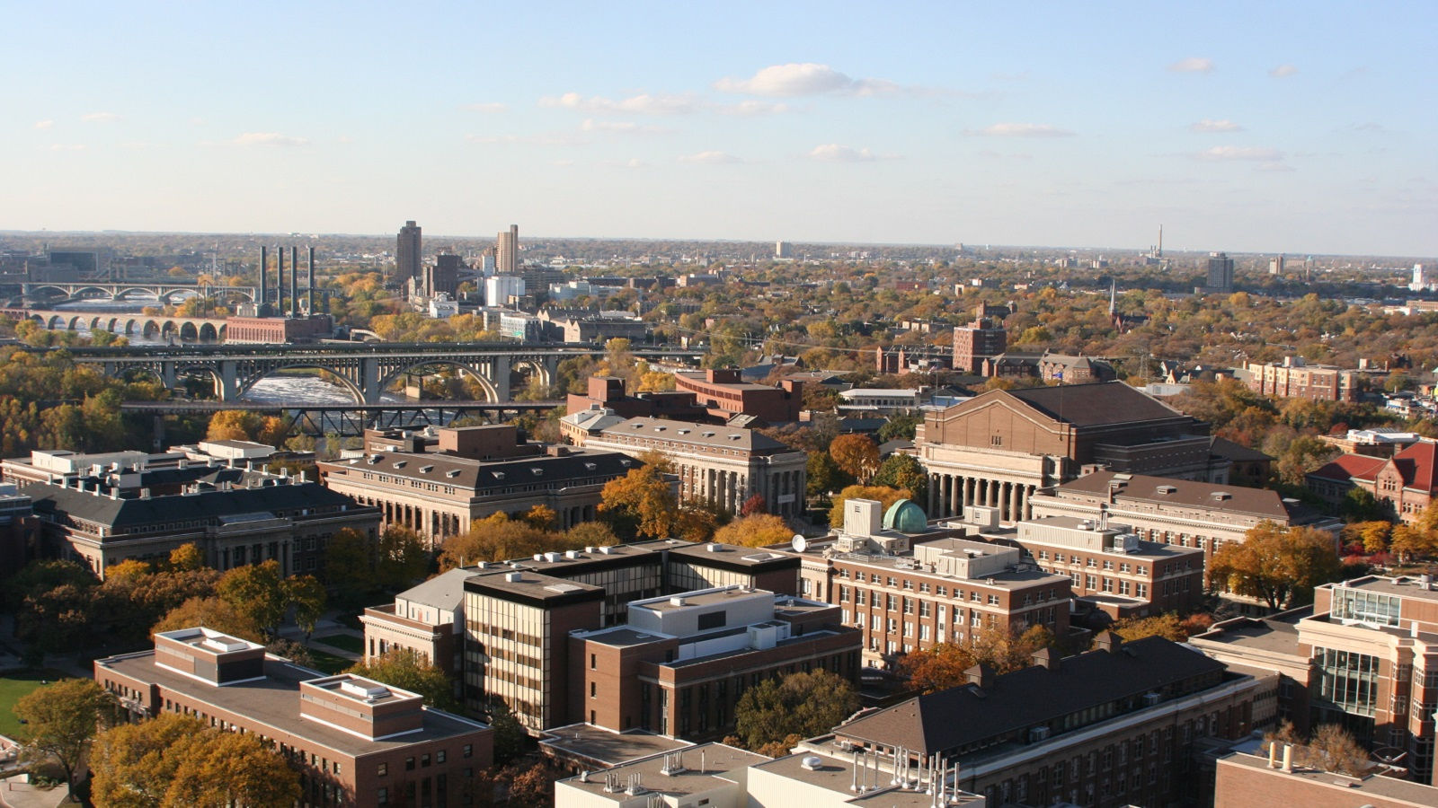 Things to do in Minneapolis includes a college visit to the University of Minnesota.